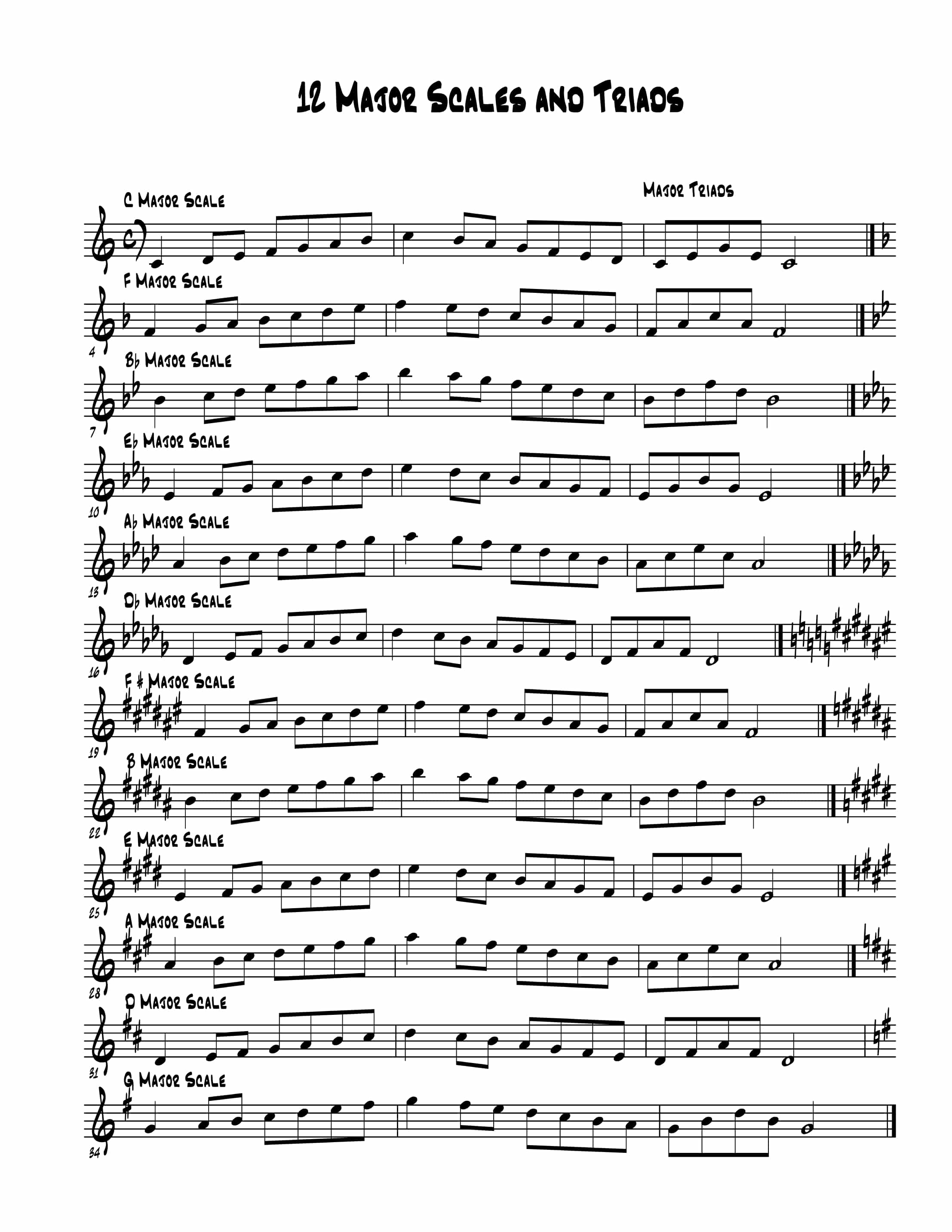 Rose Glen North Dakota ⁓ Try These Free Alto Sax Jazz Sheet