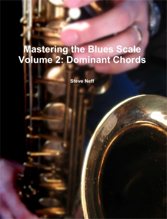 Mastering the Blues Scale Vol. 2-Dominant Chords (Digital PDF Book)