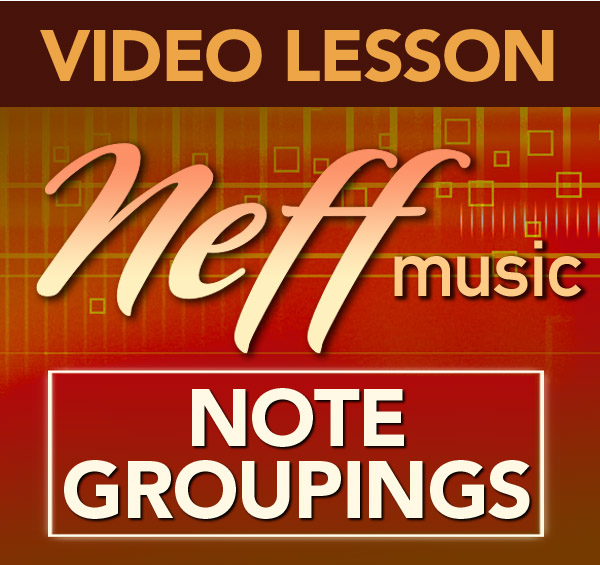 4 Note Groupings