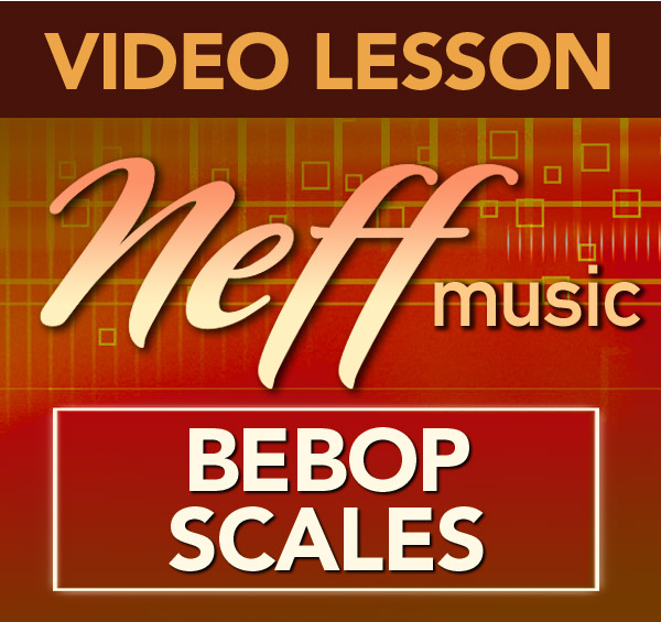 Bebop Scale Rhythmic Options-Lesson 1
