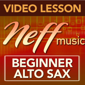 Beginner Alto Sax-Lesson Series Deal (only 39.99)